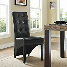Preside Dining Side Chair Furniture 2 Different Amazing Colors White / Black