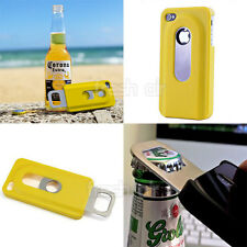Beer Bottle Opener Slide Hard Back Case for iPhone 4/4s 5/5s Light fashion metal