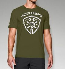 Under Armour Men's UA Black Ops Fist Tactical Charged Cotton T-Shirt NWT 1251685