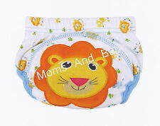 1x Potty Training Pants for Girls Boys Unisex Sizes from 80 90 100 - Lion Design