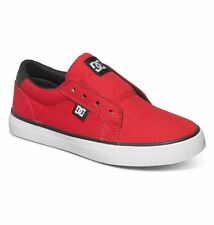 DC Shoes Boy's Council Slip TX Slip-On Shoes - Red