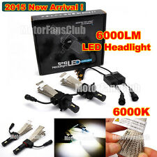 2015 New 40W 6000LM H4 H7 H10 H11 H13 H16 9005 9007 Cree LED Headlight Kit 6000K