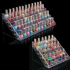 New Acrylic Nail Polish Bottles Display Organizer Rack Stand 6-Layer Holder