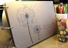 60 Pages Photo Album Books Kraft Memory Moment Travel New Year Gift 6 Patterns
