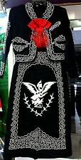 Women's Mariachi Charro Dress Outfit Mexico Folklorico 5 De Mayo Fiesta New