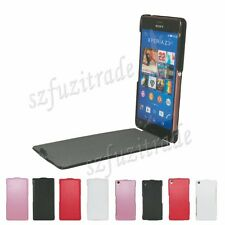 Litchi Grain Luxury PU Leather Case Cover Protective Pouch For Sony Xperia Z3