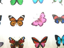 Butterfly Circle Seal Labels, Stickers for Gift Wrap, Envelopes, Bags, Cards