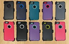 """New Defender Rugged Series Durable Triple Layer iPhone 6 4.7"""" Case + Holster"""