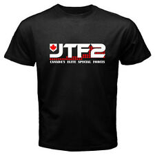 JTF2 Canadian Special Ops Force Army Military Men's Black T-Shirt Size S to 3XL