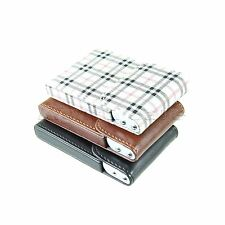 Retro Mini Men Business Name ID Credit Card Box Pocket Wallet Case Pouch Holder
