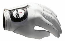NEW TITLEIST PLAYERS FINEST TOUR CABRETTA LEATHER MEN'S GOLF GLOVE, PEARL WHITE