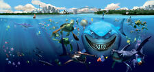 Finding Nemo Underwater 3D Full Wall Mural Photo Wallpaper Home Dec Kids Nursery