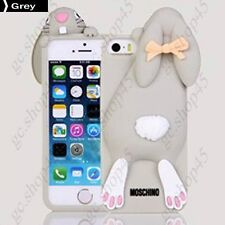 Etui Housse Coque Silicone Moschino Rabbit Iphone 5/5S Plusieurs couleurs