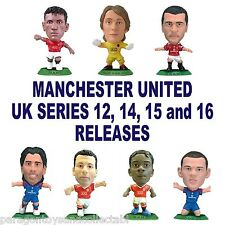 MANCHESTER UNITED MicroStars - UK Series 12, 14, 15, 16 Choice of 15 figures