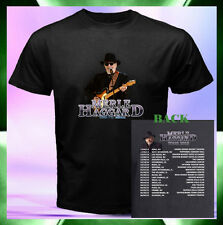 MERLE HAGGARD TOUR 2015 with Concert Dates 2 Sides Men Black T-Shirt S to 3XL