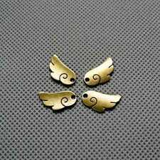 Retro DIY Bronze Schmuckteile Jewelry Findings Charms 4-A2961 Angel wings