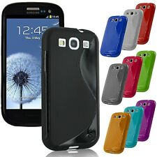 Samsung Galaxy S3 III Phone Case Cover TPU Soft Rubber Gel Silicone S Line