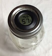 Digital Curing Cap for Regular and Wide Mouth Mason Jars