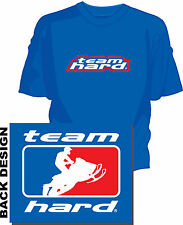 AHA Snowmobile T-shirt by Team Hard Sno-x  Snocross Series Pro Open Sled Racing