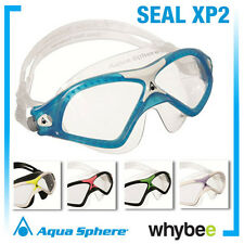 AQUA SPHERE SEAL XP2 MENS & LADIES SWIMMING GOGGLES OPEN WATER MASKS ALL SIZES!