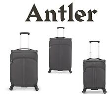 NEW Antler Aire 4 Wheel Spinner Trolley Suitcase. 3 Sizes With Express Delivery
