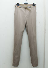 NEW Lanvin Beige Cotton Trousers with Belt GENUINE RRP: £280