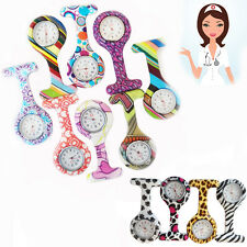 New Fancy Nurse Watches Designer Pattern FOB Tunic Doctor Hospital Pin Up Watch