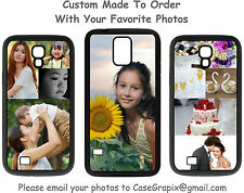Custom w/Your Photo Picture Collage Samsung Galaxy Phone Case S3/S4/S5 Note 3/4