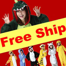 Kigurumi Pajamas Anime Onsie Cosplay Costume unisex Adult Onesie Sleepwear HOT