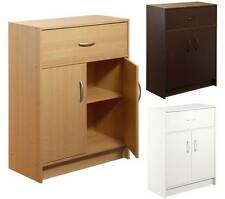 Kitchen Cabinet 2 Door Drawer Bathroom Office Storage Pantry Wooden Furniture