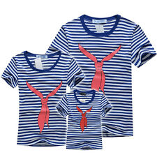 child kids man women boy girl family summer clothes couple top t shirt tees TB71