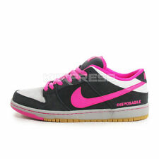 Nike Dunk Low Premium SB QS [504750-061] Skateboarding Disposable Black/Pink