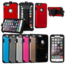 Slim Hybrid Armor Case Cover Belt Clip Holster for iPhone 6 Plus 5.5 inch