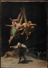 FRANCISCO   GOYA WITCHES IN AIR  ART ROMANTICISM GICLEE PRINT FINE  CANVAS