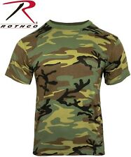 Heavyweight Camo & Olive Drab Tactical Military S/S Polly/Cotton T-Shirt 9790