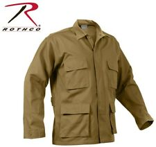 Coyote Brown Tactical Military Police Poly/Cotton Long Sleeve BDU Shirt 8508