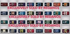 HTC One M8 NFL Teams Logo Case Back Black Cover Case  Team Logos Look Great!