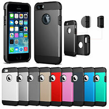 For Apple iPhone 5 / 5S Heavy Armor Rugged Skin Cover Tough Protective Case
