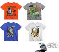 Star Wars The Clone Wars Kurzarmshirt  104 116 128 140 152 Jungen T-Shirt Shirt