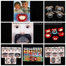 16+ Styles Billy Bob Pacifiers Dummy Baby Teether Pacy Orthodontic Nipples