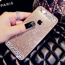 Luxury Bling Crystal Diamond Soft TPU Cover Case Apple iPhone 4 4s 5 5s 6 6 Plus
