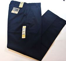 "Men Dockers D3 Classic Fit ""Easy Khaki"" Dark Navy Blue Color Pants - 60% Cotton"