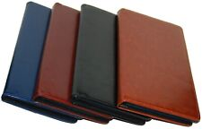 PU Leather 75 Cards Business  ID Credit Card Holder Book Case Keeper Organizer