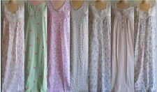 Charter Club Women's Nightgown XS S M Softly designed Blues Pinks & Purples New