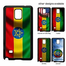 Case for Samsung Galaxy Note 4 - Flag of Ethiopia - Choose your Design