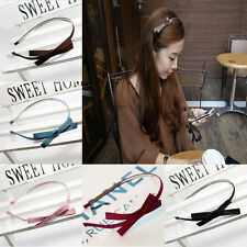 1pcs New Girl Lady Women Korea Bowknot Hair Band Bow Tie Headband Accessory
