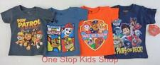 PAW PATROL Toddler Boys 2T 3T 4T Short Sleeve Tee SHIRT Top Rocky Chase Nick Jr