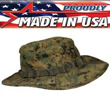 USMC Marine Marpat Woodland Digital Camouflage Boonie Hat US Made 573-317