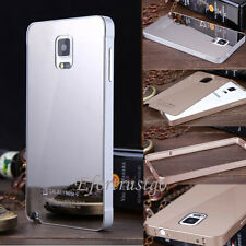 Luxury Aluminum Metal PC Mirror Case Cover For Samsung Galaxy Note 4/3 S5/S4/S3