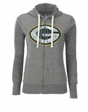 Green Bay Packers WOMENS Full Zip Up Sweatshirt Hoodie Touch by Alyssa Milano